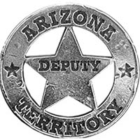Arizona Territory Deputy Badges