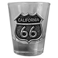 California, RT66 Shot Glass