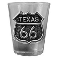 Texas, RT66 Shot Glass