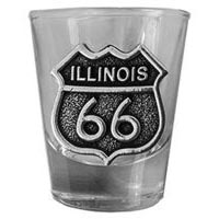 Illinois, RT66 Shot Glass